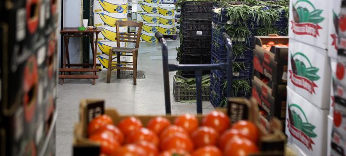 Δέσμευση 723 κιλών οπωροκηπευτικών/Φωτογραφία αρχείου: IntimeNews
