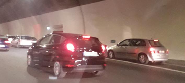 Ασυνείδητοι οδηγοί μπλόκαραν τη ΛΕΑ κατά την επιστροφή των εκδρομέων -Ακόμα και μέσα σε τούνελ [εικόνες]