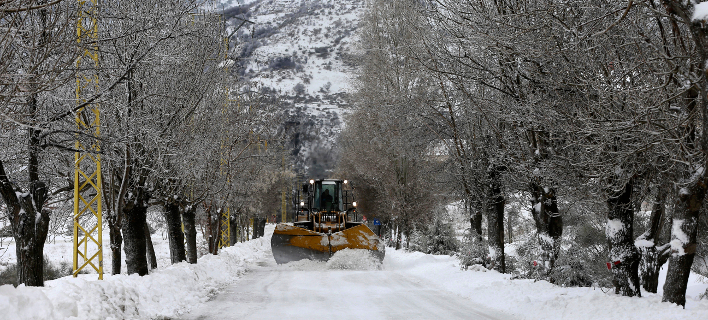 Λίβανος: Δέκα Σύροι πρόσφυγες έχασαν τη ζωή τους σε χιονοθύελλα (Φωτογραφία αρχείου: AP Photo/Hussein Malla)