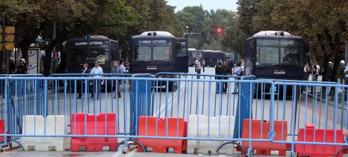 Πρωτοφανή δρακόντεια μέτρα ασφαλείας στη ΔΕΘ /Φωτογραφία: Εurokinissi