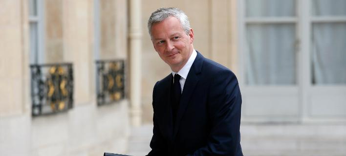 Ο Γάλλος υπουργός Οικονομικών, Μπρούνο Λεμέρ/Φωτογραφία: AP