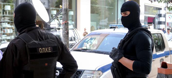 Αστυνομικές δυνάμεις έξω από τα δικαστήρια Ηρακλείου: ΦΩΤΟΓΡΑΦΙΑ: INTIME NEWS