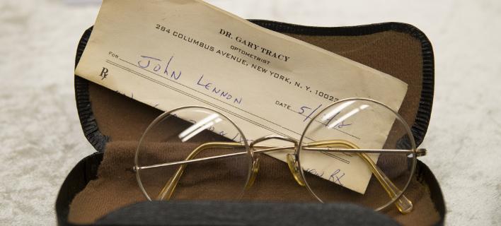 Γυαλιά του Τζον Λένον ήταν ανάμεσα στα κλεμμένα αντικείμενα (Φωτογραφία: AP/ Markus Schreiber)