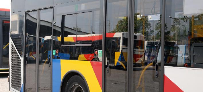 λεωφορείο ΟΑΣΘ/Φωτογραφία: Eurokinissi/ΦΑΝΗ ΤΡΥΨΑΝΗ
