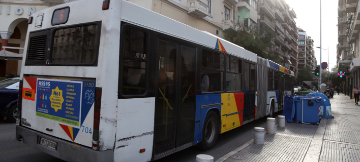 Λεωφορείο/ Φωτογραφία: Eurokinissi- ΤΡΥΨΑΝΗ ΦΑΝΗ
