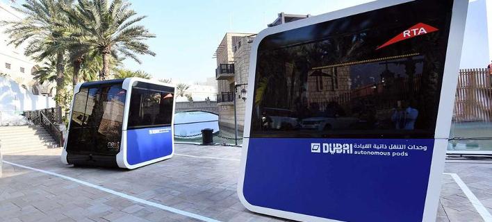 Φωτογραφία: AΠΕ-ΜΠΕ- Λεωφορείο στο Ντουμπάι