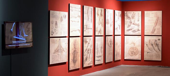 Η έκθεση «Leonardo Da Vinci – 500 Years of Genius»