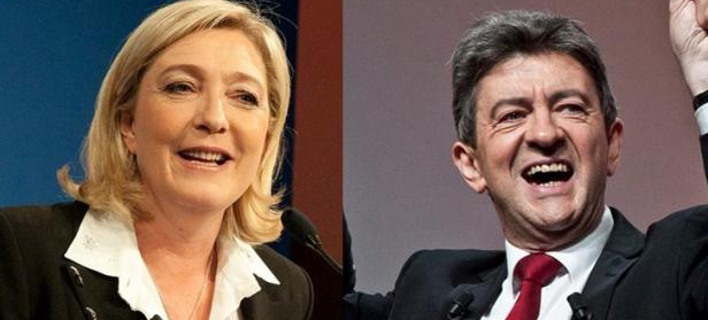 Γαλλία: Ανησυχία ότι θα περάσουν μια ακροδεξιά και ένας νεοκομμουνιστής στον δεύτερο γύρο