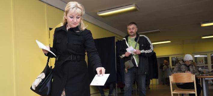 Εκλογές στη Λετονία /Φωτογραφία: AP