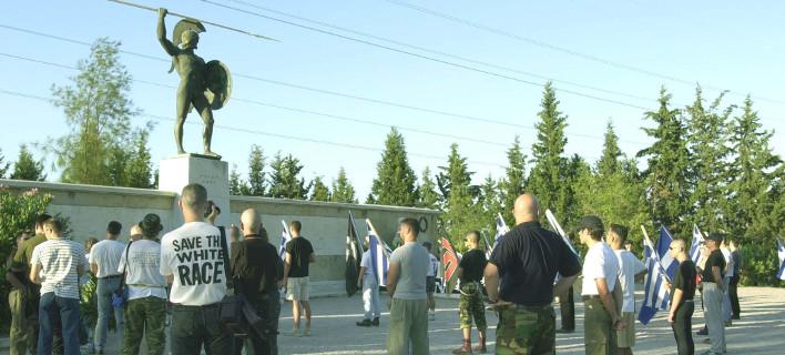 Κυκλώνουν τις Θερμοπύλες ισχυρές αστυνομικές δυνάμεις -Εξαιτίας συγκέντρωσης της Χρυσής Αυγής