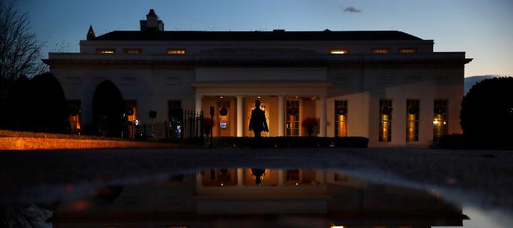 Η δυτική πλευρά του Λευκού Οίκου / Φωτογραφία: AP Images