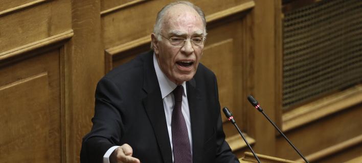 Ο πρόεδρος της Ενωσης Κεντρώων στη συζήτηση για την συνταγματική αναθεώρηση -Φωτογραφία: Intimenews/ΛΙΑΚΟΣ ΓΙΑΝΝΗΣ