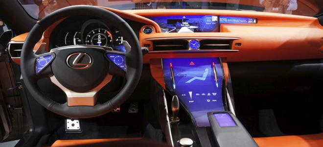 Δείτε την νέα υπερσύγχρονη Lexus με touchscreen τεχνολογία [εικόνες]