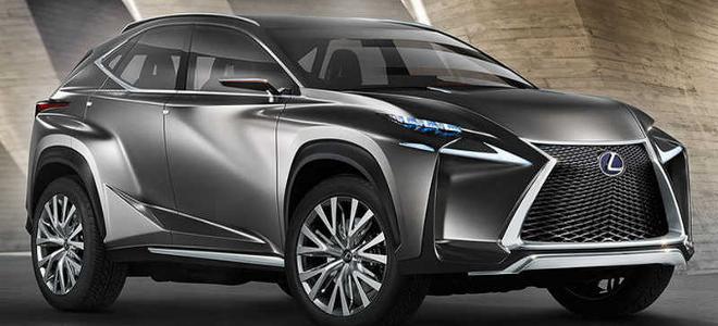 Lexus LF-NX: Η Lexus μπαίνει στα μεσαία και πιο προσιτά SUV πολυτελείας