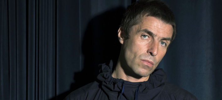 O Liam Gallagher φωτογραφίζεται για την προώθηση του άλμπουμ του