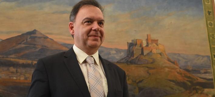 «Η τρίτη αξιολόγηση δεν πρέπει να πάρει πάνω από ένα μήνα διαπραγματεύσεων» είπε ο Παναγιώτης Λιαργκόβας /  (EUROKINISSI/ΓΙΩΡΓΟΣ ΚΟΝΤΑΡΙΝΗΣ)