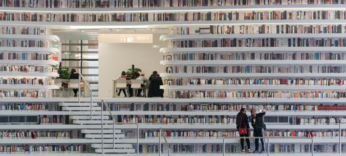 Καλύπτει πάνω από 33 τετραγωνικά χιλιόμετρα, φωτογραφίες: mvrdv.nl/projects/tianjin-binhai-library