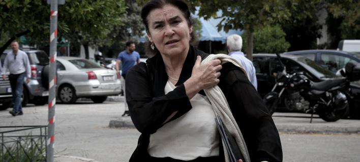 Η  υπουργός Πολιτισμού, Λυδία Κονιόρδου. Φωτογραφία: Eurokinissi / Βασίλης Ρεμπάπης