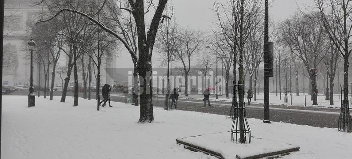 Φωτογραφία: Η κατάσταση στη Γαλλική πρωτεύουσα το απόγευμα της Παρασκευής -iefimerida.gr