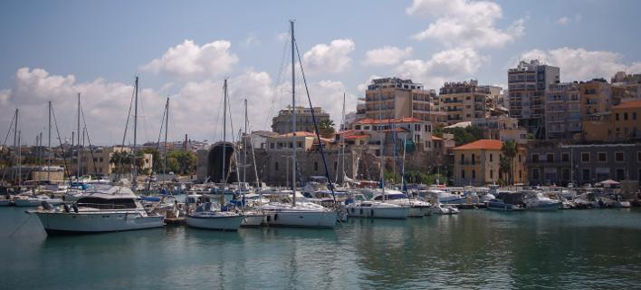 Το λιμάνι του Ηρακλείου/ Φωτογραφια: Eurokinissi- ΔΗΜΟΠΟΥΛΟΣ ΘΑΝΑΣΗΣ