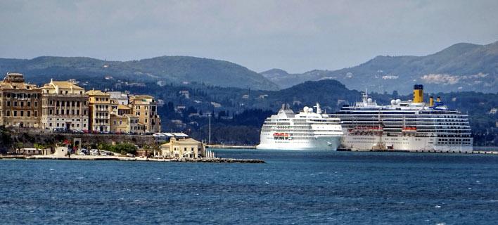 Το λιμάνι της Κέρκυρας/Φωτογραφία: Eurokinissi