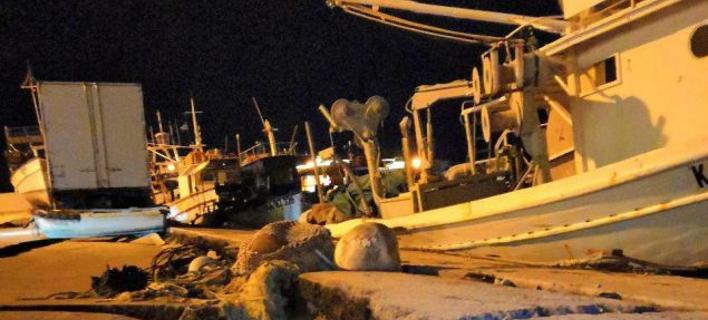 Το λιμάνι της Ζακύνθου μετά τον σεισμό