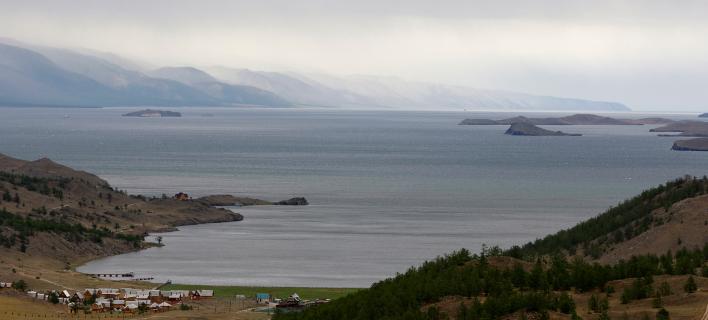 Λίμνη Βαϊκάλη (Φωτογραφία: AP Photo/Misha Japaridze, File)
