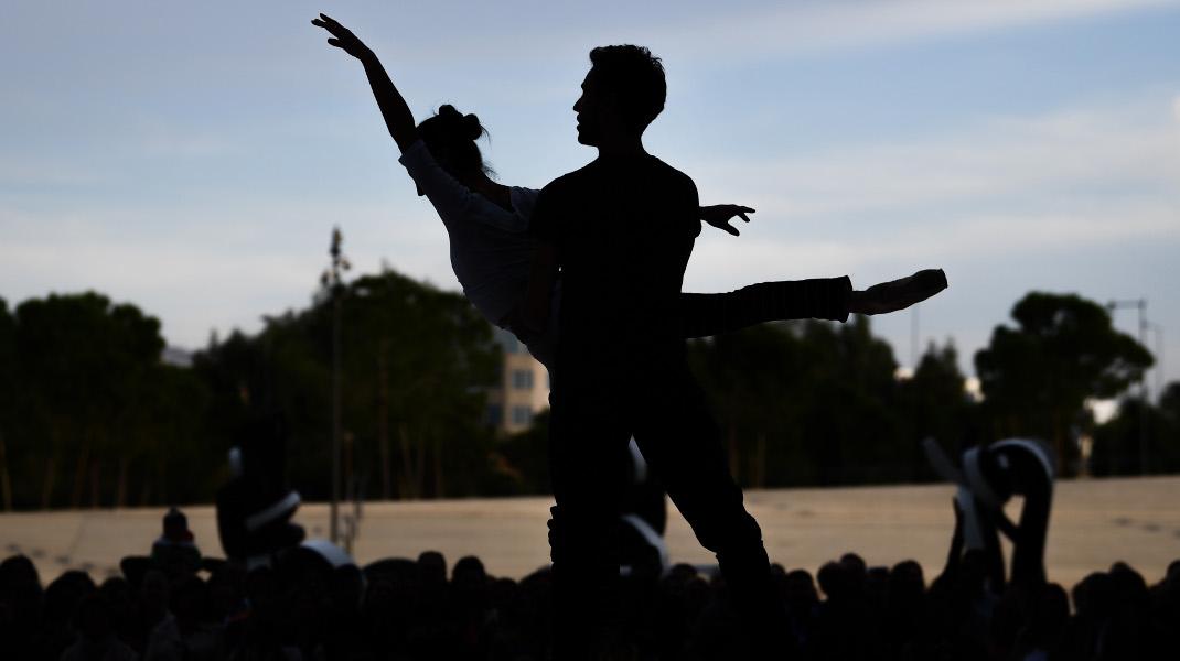 Ανοικτή πρόβα της Λίμνης των Κύκνων από το μπαλέτο της Εθνικής Λυρικής Σκηνής στο ΚΠΙΣΝ -Φωτογραφία: Intimenews/ΒΑΡΑΚΛΑΣ ΜΙΧΑΛΗΣ