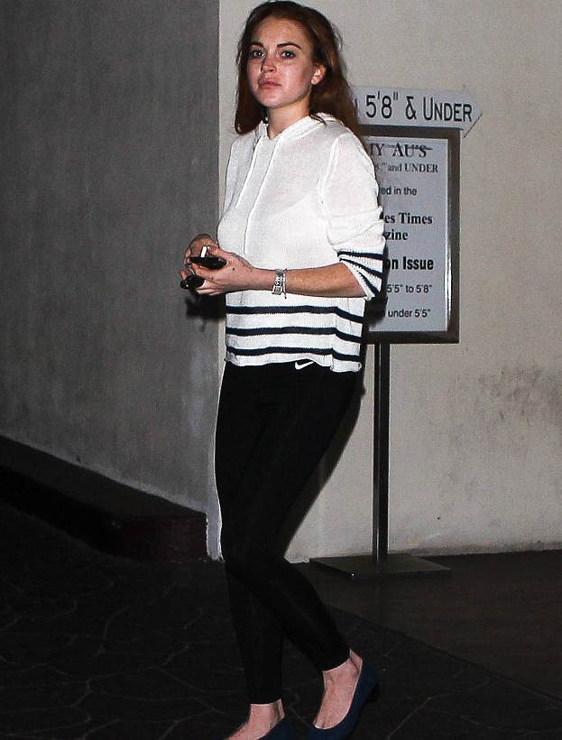 lindsay lohan 1 ΔΕΙΤΕ: Διάσημη ηθοποιός καράφλιασε στα 26 της λόγω κατάχρησης... extensions!
