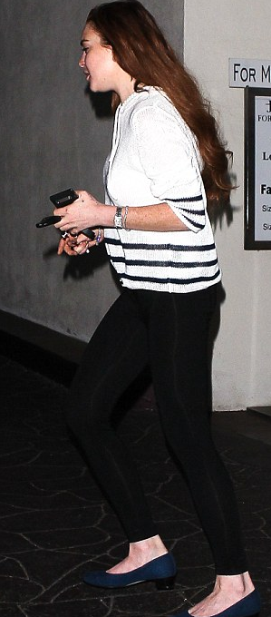 lindsay lohan 3 ΔΕΙΤΕ: Διάσημη ηθοποιός καράφλιασε στα 26 της λόγω κατάχρησης... extensions!