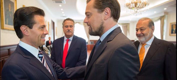 Ο ΝτιΚάπριο συνεργάζεται με τον πρόεδρο του Μεξικό για τη διάσωση σπάνιου θηλαστικού [εικόνες]