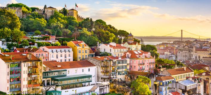 Η Λισαβόνα έγινε αγαπημένος προορισμός των Ευρωπαίων για το Σ/Κ [εικόνες]