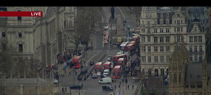 Λονδίνο: Η στιγμή των πυροβολισμών στο Βρετανικό Κοινοβούλιο [βίντεο]