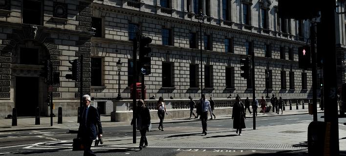 Στους δρόμους του Λονδίνου/Φωτογραφία: ΑΡ