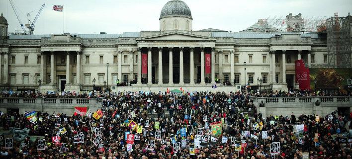 «Πλημμύρισε» το Λονδίνο -Δεκάδες χιλιάδες άνθρωποι διαδήλωσαν κατά των πυρηνικών όπλων [βίντεο]