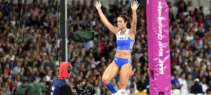Παγκόσμια Πρωταθλήτρια στο επί κοντώ η Στεφανίδη με άλμα στα 4,91 μέτρα (ΦΩΤΟ-VIDEO) {featured}
