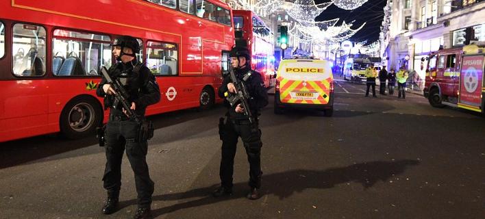 Ενας καβγάς προκάλεσε πανικό στο Λονδίνο (Φωτογραφία: ΑΠΕ/  EPA/FACUNDO ARRIZABALAGA)