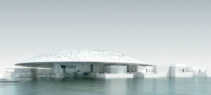 Ανοίγει παράρτημα του Λούβρου στο Αμπου Ντάμπι -Με γυάλινη οροφή 180 μέτρων [εικόνες]