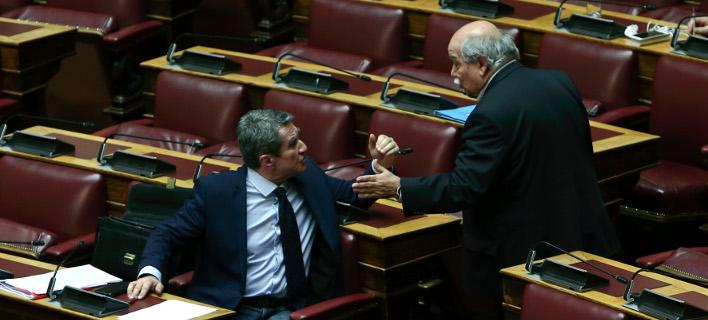 Αγρια κόντρα Λοβέρδου με Βούτση -«Εχετε κάνει επιπλέον 400 προσλήψεις στη Βουλή» -«Είστε ψεύτης»