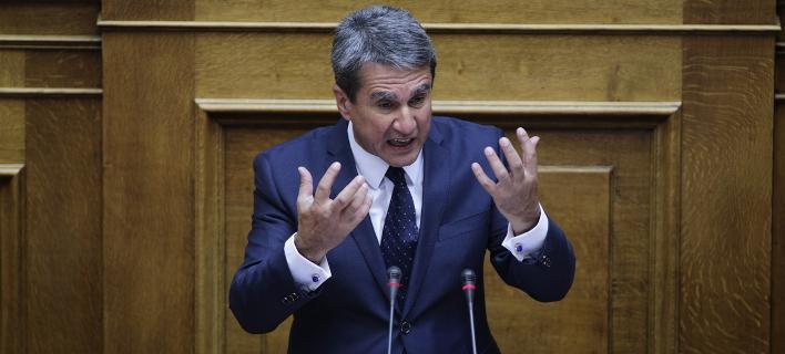 Εντονη αντίδραση του Α. Λοβέρδου για την περιοδεία Ερντογάν στην Κομοτηνή -Φωτογραφία: Nikos Libertas / SOOC