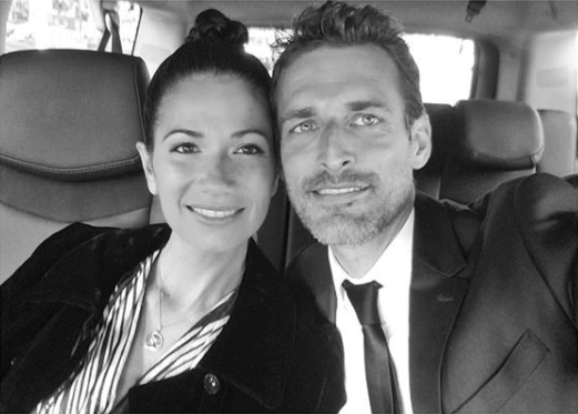 Ο φωτογράφος Αλέξι Λουμπομίρσκι με τη σύζυγό του
