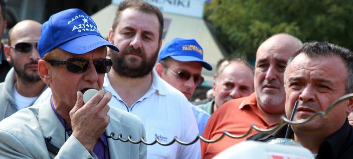 Ο πρόεδρος του ΣΑΤΑ Θύμιος Λυμπερόπουλος -Φωτογραφία: EUROKINISSI-ΓΕΩΡΓΙΑ ΠΑΝΑΓΟΠΟΥΛΟΥ