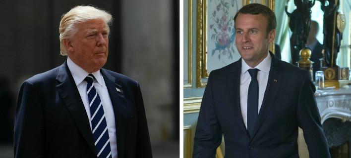 Η ατζέντα της συνάντησης Τραμπ-Μακρόν την Πέμπτη στις Βρυξέλλες