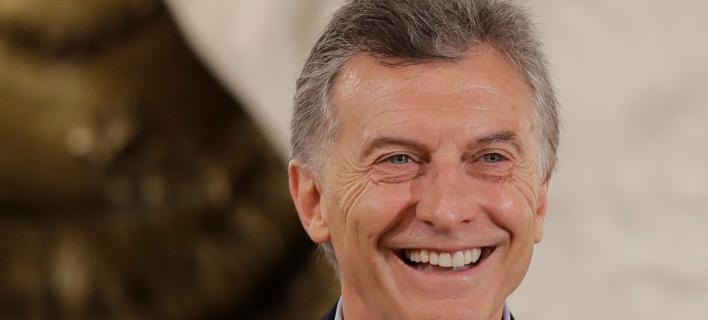 Ο πρόεδρος της Αργεντινής, Μαουρίτσιο Μάκρι / ΦΩΤΟ: ΑΡ
