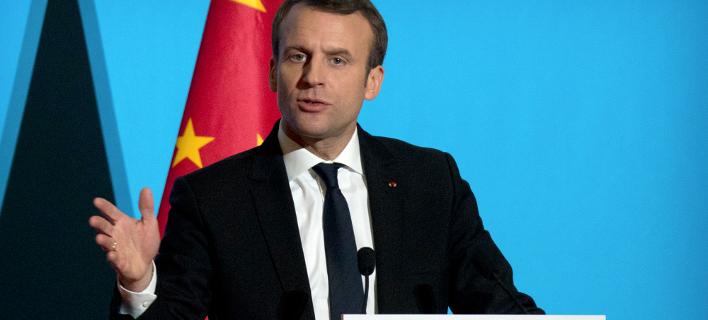 Ο Γάλλος πρόεδρος πραγματοποιεί επίσημη επίσκεψη στην Κίνα, Φωτογραφία: AP