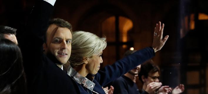 Θριάμβευσε με 66,06% ο Μακρόν -«Ουφ», λέει ανακουφισμένη η Ευρώπη