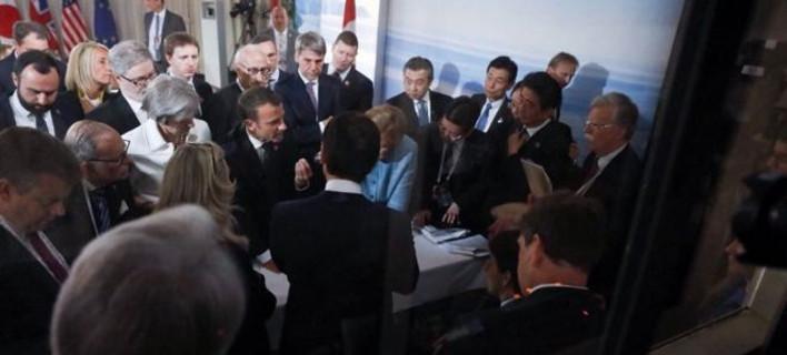 G7, το τελικό ανακοινωθέν -Τι λένε για εμπόριο, Ρωσία -Διαφωνία για το κλίμα με ΗΠΑ