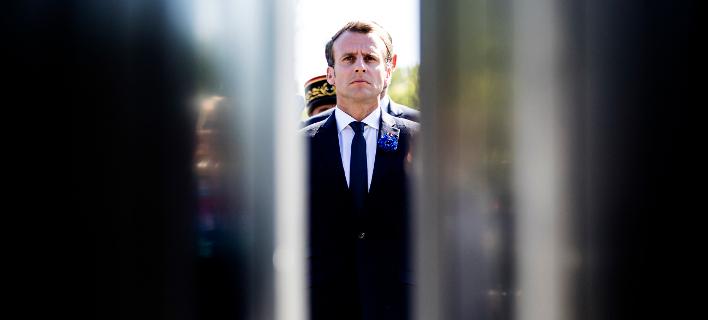Εμανουέλ Μακρόν (Φωτογραφία: Etienne Laurent/Pool Photo via AP)