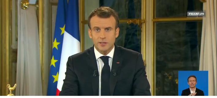 Ο Μακρόν ανακοίνωσε αύξηση 100 ευρώ το μήνα για όλους τους Γάλλους