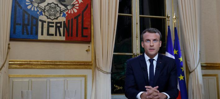 Νέο νόμο για το μεταναστευτικό προωθεί ο Γάλλος πρόεδρος -Φωτογραφία: Philippe Wojazer, Pool via AP